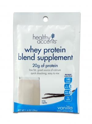 Healthy Accents Whey Protein Vanilla