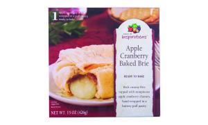 Taste Of Inspirations Apple Cranberry Baked Brie