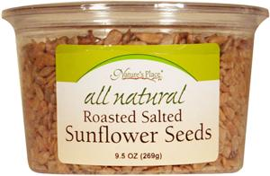 Nature's Place All Natural Roasted Salted Sunflower Seeds