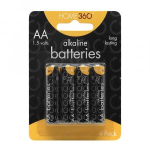 Home 360 AA Alkaline Batteries