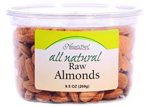Nature's Place All Natural Raw Almonds
