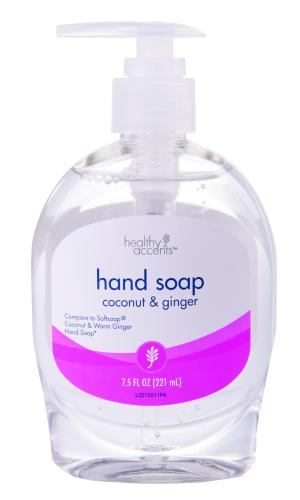 Healthy Accents Liquid Hand Soap Coconut & Ginger