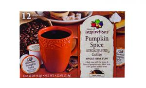Taste Of Inspirations Pumpkin Spice Single Serve Coffee