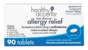 Healthy Accents Loratadine Tablets