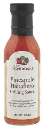Taste Of Inspirations Pineapple Habanero Sauce