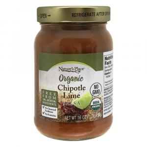Nature's Place Organic Chipotle Lime Salsa