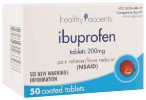 Healthy Accents Ibuprofen Tabs 200 Mg