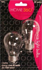 Home 360 40-watt Appliance Bulbs