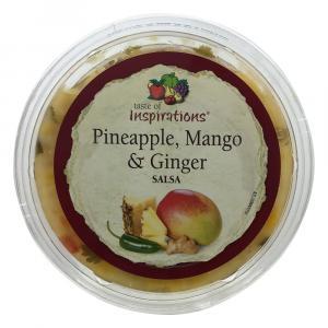 Taste of Inspirations Pineapple Mango and Ginger Salsa