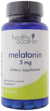 Healthy Accents Melatonin 5 mg