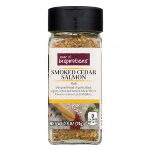 Taste of Inspirations Smoked Cedar Salmon Rub