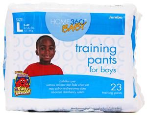 Home 360 Baby Large Boy's Training Pants
