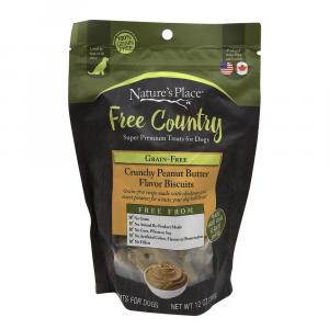 Nature's Place Free Country Grain Free Crunchy Peanut Butter