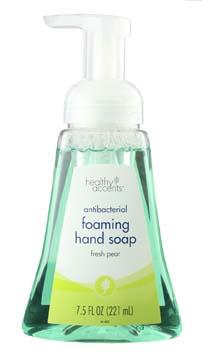 Healthy Accents Fresh Pear Foam Hand Soap
