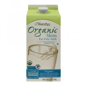 Nature's Place Organic Fat Free Milk