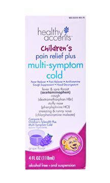 Healthy Accents Children's Apap Multi-symptom