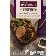 Taste of Inspirations Steak Burger Blend