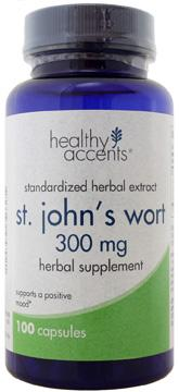 Healthy Accents St. John's Wort 300 Mg Capsules