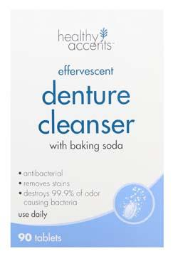 Healthy Accents Denture Tablets