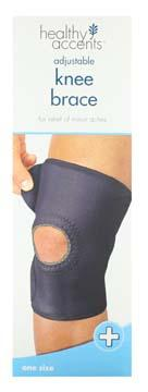Healthy Accents Neoprene Open Knee Support One Size