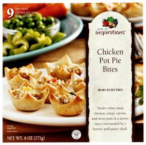 Taste Of Inspirations Chicken Pot Pie Bites