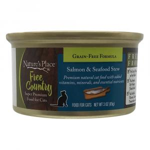 Nature's Place Free Country Salmon & Seafood Stew Cat Food