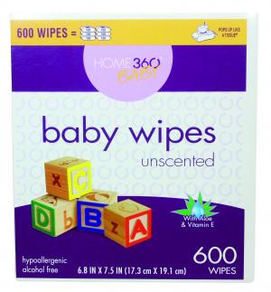 Home 360 Baby Wipes