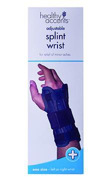 Healthy Accents Neoprene Splint Wrist Reverse One Size