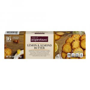 Taste of Inspirations Lemon & Almond Butter Cookies