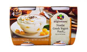 Taste Of Inspirations Greek Peach Yogurt