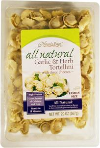 Nature's Place Cheese Tortellini W/garlic & Herb