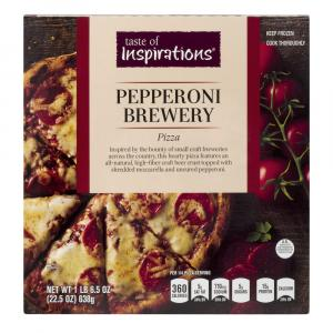 Taste Of Inspirations Pepperoni Brewery Pizza