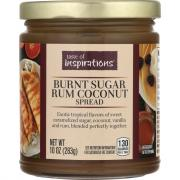 Taste of Inspirations Burnt Sugar Rum Coconut Spread
