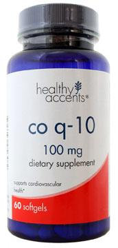 Healthy Accents Co Q-10 100 Mg Softgels