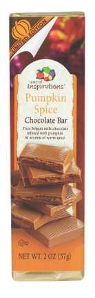 Taste of Inspirations Milk Chocolate Pumpkin Spice Bar