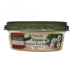 Nature's Place Organic Red Pepper Hummus