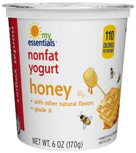 My Essentials Nonfat Honey Yogurt