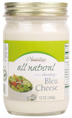 Nature's Place Bleu Cheese Salad Dressing