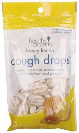 Healthy Accents Honey Lemon Cough Drops