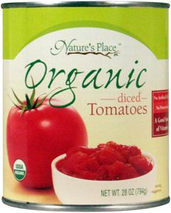 Nature's Place Organic Diced Tomatoes
