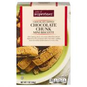 Taste of Inspirations Chocolate Chunk Mini Biscotti