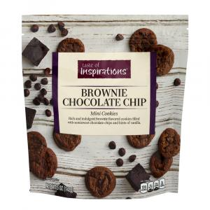 Taste of Inspirations Brownie Chocolate Chip Mini Cookies