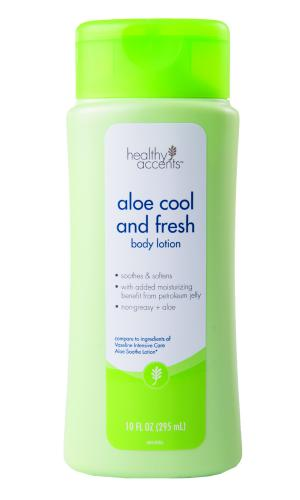 Healthy Accents Aloe Cool And Fresh  Body Lotion