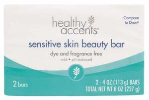 Healthy Accents Sensitive Skin Beauty Bar Soap