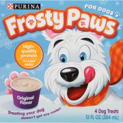 Nestle Frosty Paws for Dogs