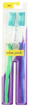 Healthy Accents Smart Grip Soft Toothbrushes