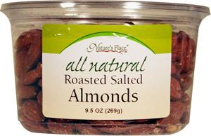 Nature's Place All Natural Roasted Salted Almonds