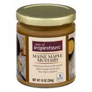 Taste Of Inspirations Maine Maple Mustard