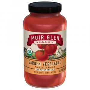 Muir Glen Organic Garden Vegetable Pasta Sauce