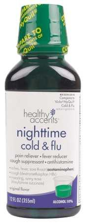 Healthy Accents Cold & Flu Original Flavor Liquid